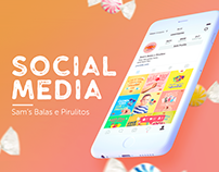 Social Media | Sam's Balas e Pirulitos