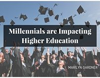 Millennials are Impacting Higher Education