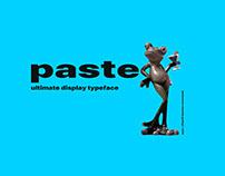 Paste Display Typeface