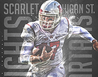 Rutgers Football Game day Graphics pt.2