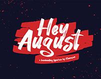Free Hey August Handwritten Font