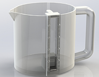 Measuring cup for visually impaired population