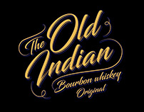 Old Indian - whiskey label