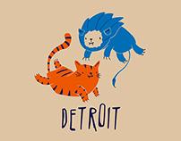 Detroit Mascots