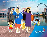 Celcom First™ Double Roaming Quota Campaign