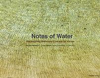 Notes of Water for KOHLER