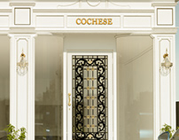 Cochese Suiting shop at M.M ALAM Road, Lahore