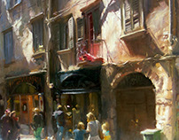 A walk through the old town