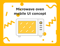 Microwave oven mobile UI concept