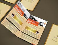 Trimex Sands   Bi-Fold Brochure Print Design