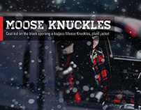 Moose Knuckles Car Wrap