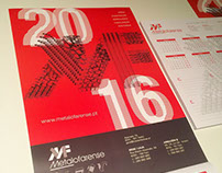 Metalofarense Calendar 2016