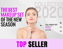 WP theme Design and development for eCommerce make up p