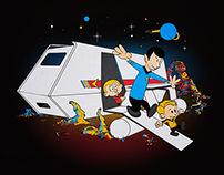 To Boldly Go Beyond: A Calvin and Hobbes Parody