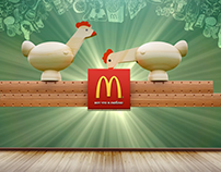 "McDonald's / ""Chicken Menu"" / 2015"