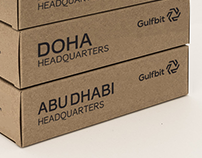 Gulfbit. Creating brand for crypto exchange. Dubai,UAE