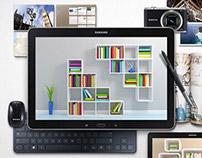 Samsung Galaxy Note Pro Facebook Campaign