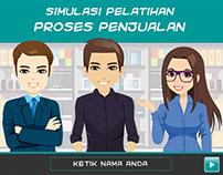 Training Simulation: Sales Process