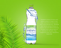 Dasani - Packaging Design