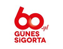 Güneş Sigorta 60.yıl Logo Tasarımı