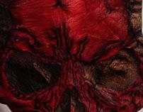 Vampire Angry Skull