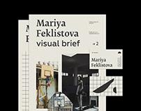 Personal identity / Mariya Feklistova / set designer