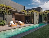 Barrancas House by Ezequiel Farca