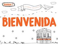 Libro ilustrado - Banco Galicia -