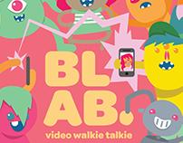 Blab: Walkie Talkie App
