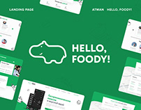 Hello, Foody! // Landing Page