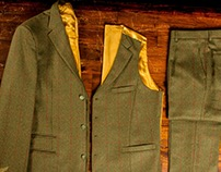 Three Piece Tweed Suit