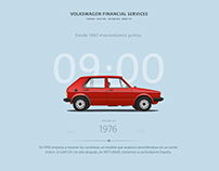 Screensaver for Volkswagen Financial Services