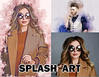 Splash art action