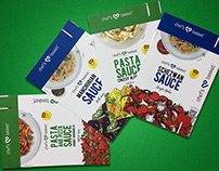 Stand alone Sauce Product with Recipe Book