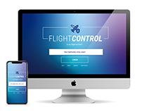 FLIGHTCONTROL APP LAYOUT