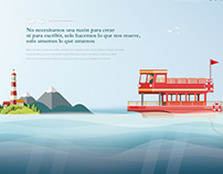 Mar - Sea | Web Design