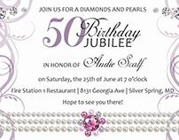 Birthday Celebration Invites