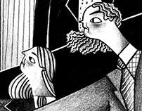 Illustrations for Allioli mag
