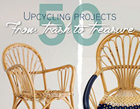 50 Upcycling Projects: From Trash to Treasure