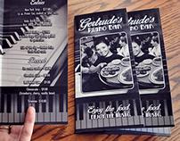 Gertrude's Piano Bar Menu