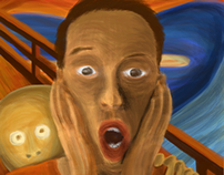 The 5th Scream - Munch Contest by Adobe