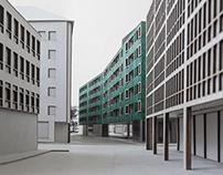 künstlerhaus + residential high rise