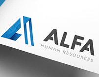 ALFA Human Resources - Logo Design