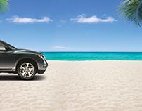 Nissan Pathfinder - Lenticular Banner