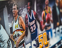 Denver Nuggets Opening Night 2017 Poster Giveaway