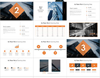 Company annual Report PowerPoint template