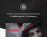 Brabus | Contemporary Portfolio Theme for Agencies