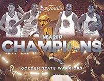 NBA CHAMPIONS 2017 CREATIVE