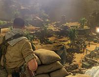 UI/UX Sniper Elite 3