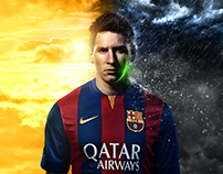 Messi for Gillette
